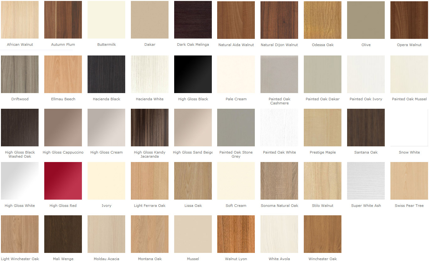 17 artistic kitchen door colours photographs homes for Colour charts for kitchens