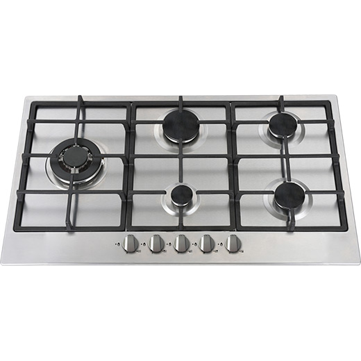 Prima 90cm Stainless Steel Gas Hob