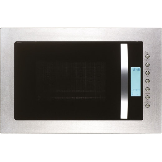 Prima Built-in Stainless Steel Frameless Microwave and Grill